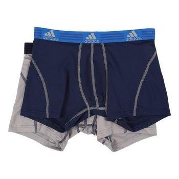 (預購) 【Adidas】2016男時尚Clima Lite靛藍灰混搭四角內著2件組
