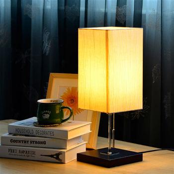 日本MAKINOU 恬靜和風木質檯燈/桌燈(不含燈泡)