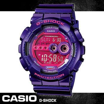 【CASIO 卡西歐 G-SHOCK 系列】當兵款/型男款/超亮LED/男錶(GD-100SC)