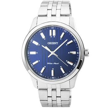ORIENT 東方錶經典藍寶石石英錶-藍 / FQC0U003D (原廠公司貨)