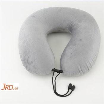 澳洲JRD戶外用品 旅行用記憶頸枕 飛機靠枕 U型枕(低調灰)