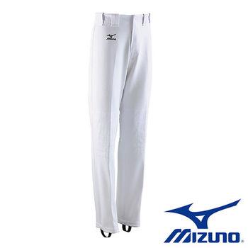【Mizuno 美津濃】 專業比賽練習棒壘球褲 (白邊) 12TD4M3301
