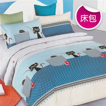 【R.Q.POLO】溫暖之家 絲棉柔-雙人標準床包枕套組(5X6.2尺)