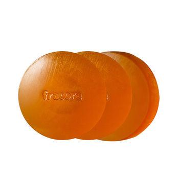 日本fracora 胎盤素極致細潤洗顏皂 80g*3入超值組