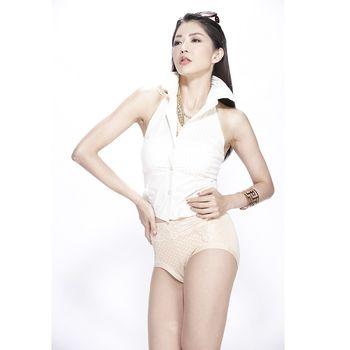 Beauty S高腰親膚包覆輕雕塑褲(6+2)