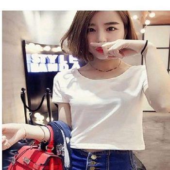 [協賀]款圓領純色短袖t恤