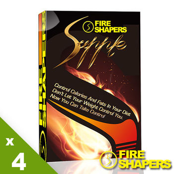 Fire Shapers-爆so膠囊超值4盒組(專利苦橙萃取)