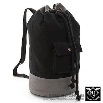 【AJ.亞介】帆布拳擊包  單肩包 斜背包 3色 (UE0209)