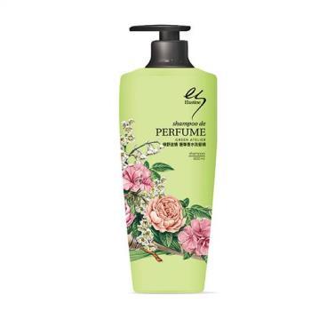 Elastine綠野迷情奢華香水洗髮精 單入 台灣限定無矽靈