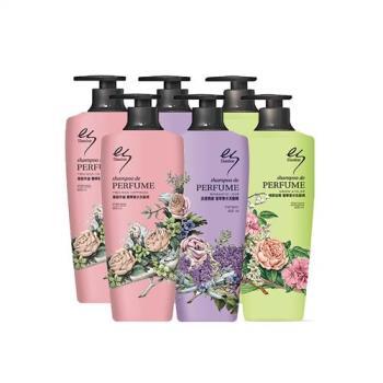 Elastine台灣限定三款奢華香水洗髮精6入組
