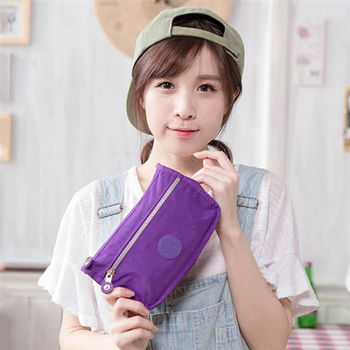 COUNT DUCK 美系悠活輕量化妝包-紫色