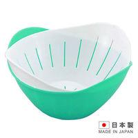 HANAGATA 花型瀝水置物籃組840ml  顏色 出貨  D5337