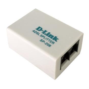 D-LINK 數位電話/ADSL室用電話濾波器 SP-206 / SP-202