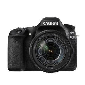 【Canon】EOS 80D 18-135mm IS USM 新旅遊鏡組(公司貨)
