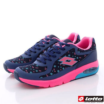 Lotto樂得-經典73跑鞋款女款-藍