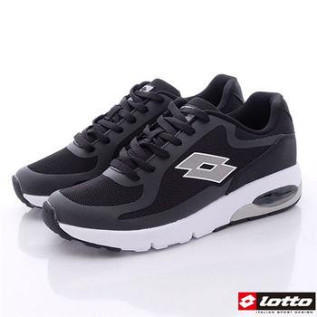 Lotto樂得-經典73跑鞋款女款-黑