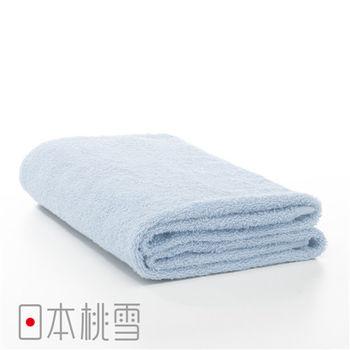 日本桃雪飯店浴巾(水藍色)