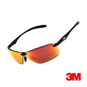 【3M】耐衝擊運動眼鏡(OSE11101紅色)