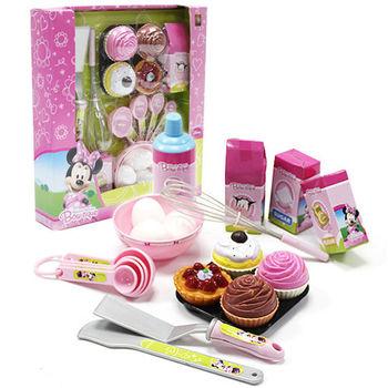 【迪士尼女孩玩具】米妮杯子蛋糕組 BL43635
