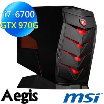 MSI 微星 Aegis-012TW 神盾宙斯 獨顯高效電競桌上型電腦-i7-6700/16G/GTX970 4G