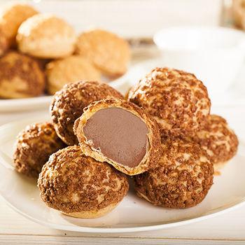 【豆酥朋】 巧克力泡芙4盒(8入/盒)