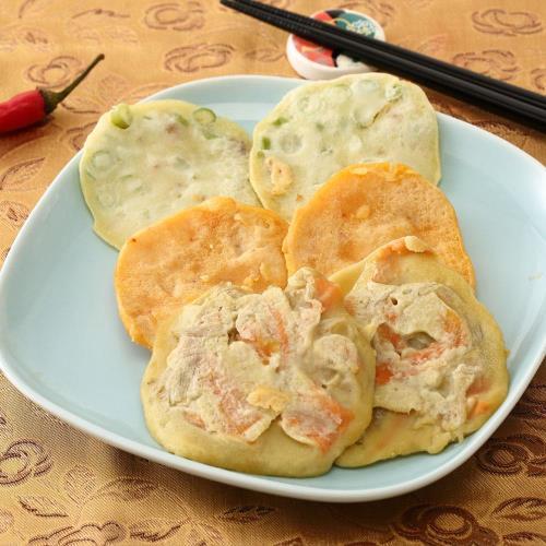 【料里長】奇皇后韓國宮廷煎餅10包組(150g/包)