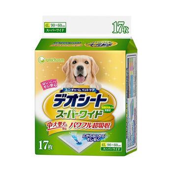 日本Unicharm消臭大師超吸收狗尿墊4L17片