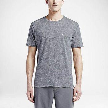 Hurley X Nike Dri-FIT 科技 - STAPLE DRI-FIT T恤-DRI-FIT - 男(灰)