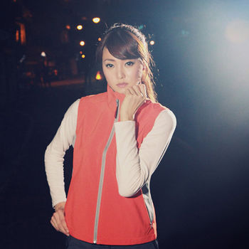 【FOX FRIEND】WINDCOVER 軟殼衣 女彈性防風透氣背心 共三色(0614)