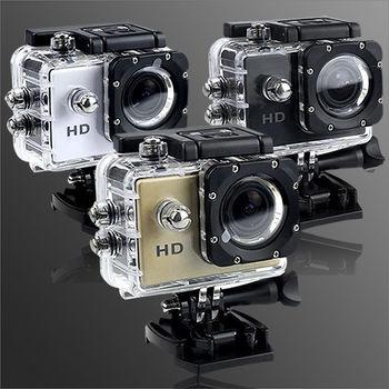 【長江】 Gmate HD1 廣角微型運動防水型攝影機 (可當行車記錄器)