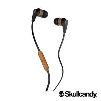 Skullcandy 骷髏糖 INKD 應可入耳式耳機-黑木紋色(公司貨)