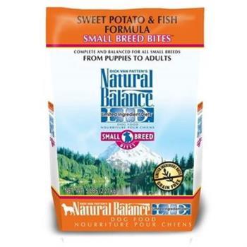【Natural Balance】低敏系列 無榖地瓜鮭魚小顆粒 -全犬 4.5磅 x 1包
