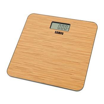 【SAMPO聲寶】木紋造型電子體重計 BF-L1502ML
