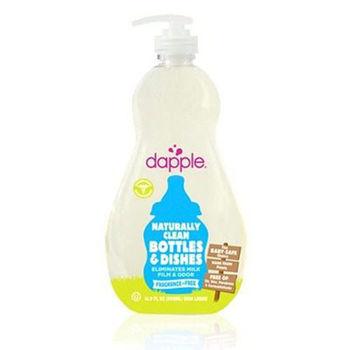 美國Dapple奶瓶及餐具清潔液-無香精500ML