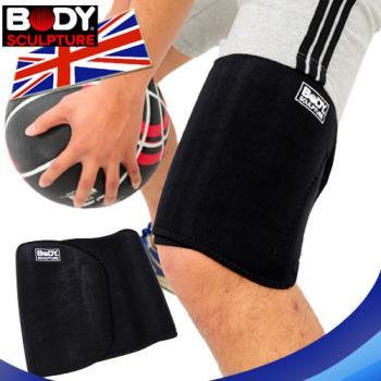 【BODY SCULPTURE】調整式彈性透氣護大腿