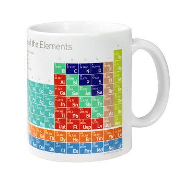 賽先生科學工廠|科學馬克杯系列-優雅化學元素表