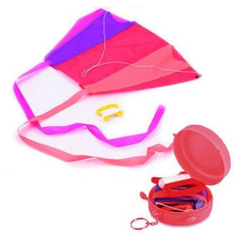 賽先生科學工廠|KeyringKite日本口袋摺疊風箏