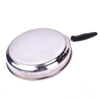 御膳坊30cm蜂巢不鏽鋼陶瓷平底鍋