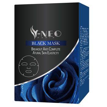 V-NEO黑玫瑰吸黑入白面膜雙效組