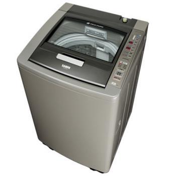 雙重送【SAMPO聲寶】15KG好取式變頻PICO PURE除菌洗衣機ES-DD15P(棕K1)