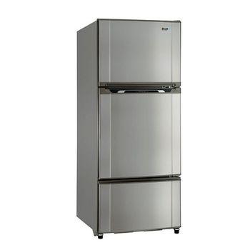 買就送【SAMPO聲寶】580L定頻節能三門冰箱SR-M58GV(不鏽鋼S3)
