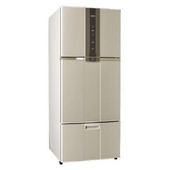 好禮送【SAMPO聲寶】580L智慧節能變頻一級三門冰箱SR-N58DV(金Y2)