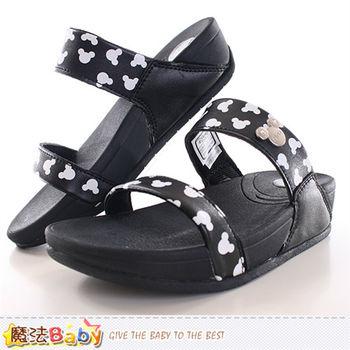 魔法Baby 成人女款涼拖鞋 迪士尼米奇正版時尚拖鞋~sh9821