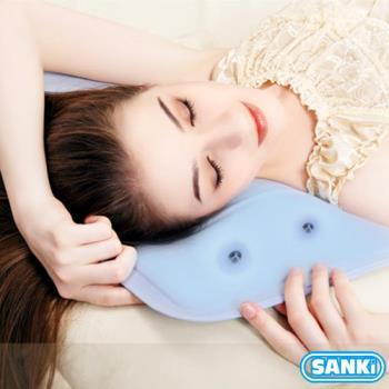 日本三貴SANKi低反發冰涼枕座墊散熱加強版(30Cmx40Cm/0.8kg)