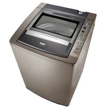 買就送【SAMPO聲寶】17KG好取式定頻洗衣機ES-E17B(深棕K2)