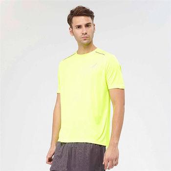 【美國AIRWALK】城市系列吸濕排汗舒適機能服 T桖-螢黃