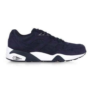 【PUMA】R698 男復古慢跑鞋- 路跑 丈青白