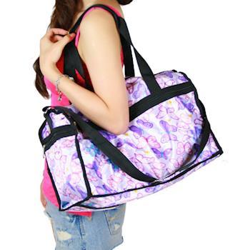 swansea 夏日繽紛旅行袋-紫