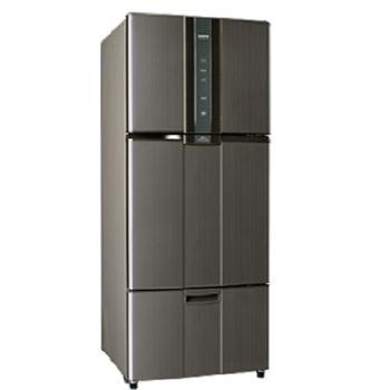 好禮送【SAMPO聲寶】530L智慧節能變頻一級三門冰箱SR-N53DV(石墨銀K2)
