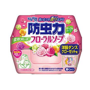 日本進口 玫瑰芳香衣櫥防蟲劑300ml LI-568113